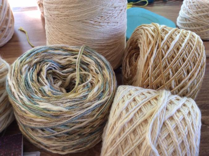 some of the fibre mixes for the Perry
