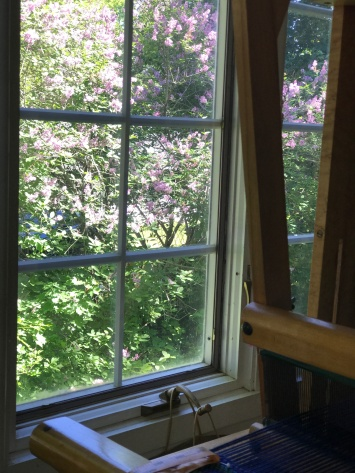 June lilacs - it smells wonderful in my workroom